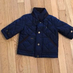 Ralph Lauren 9 month Navy Quilted